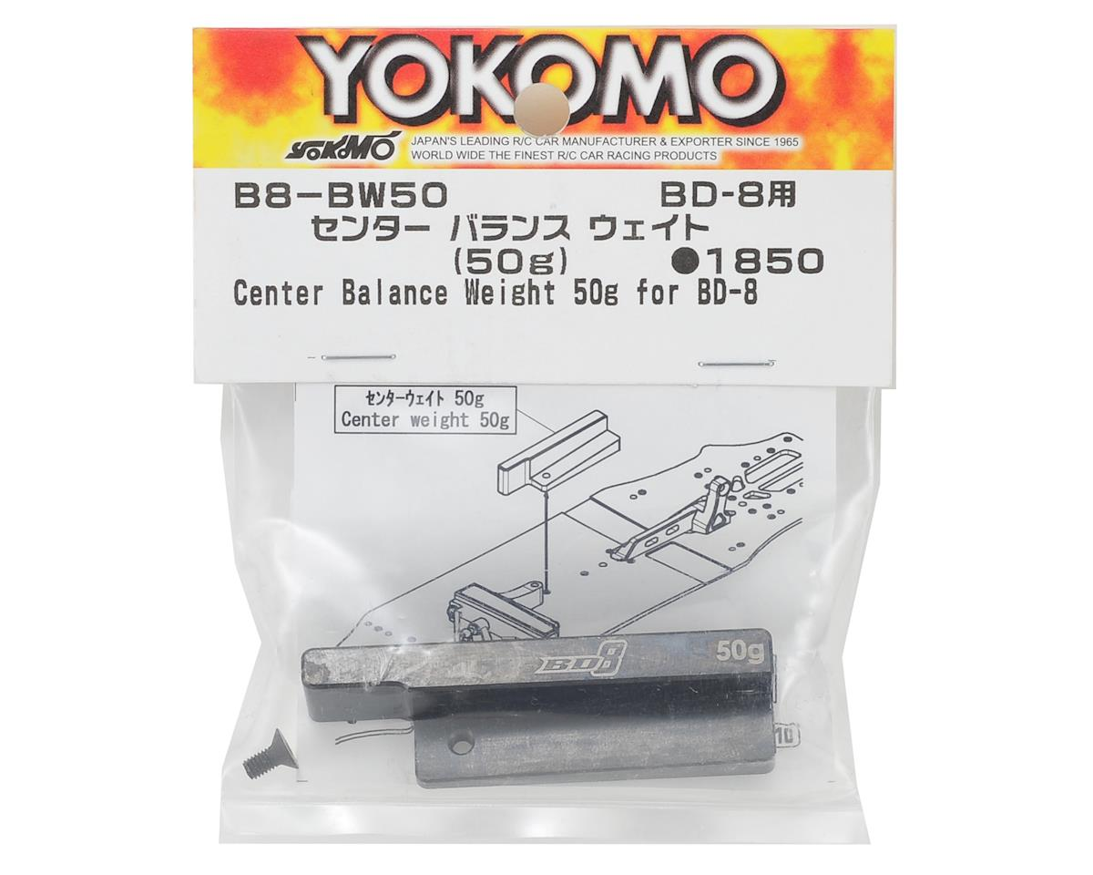 Yokomo BD8 Center Balance Weight (50g)
