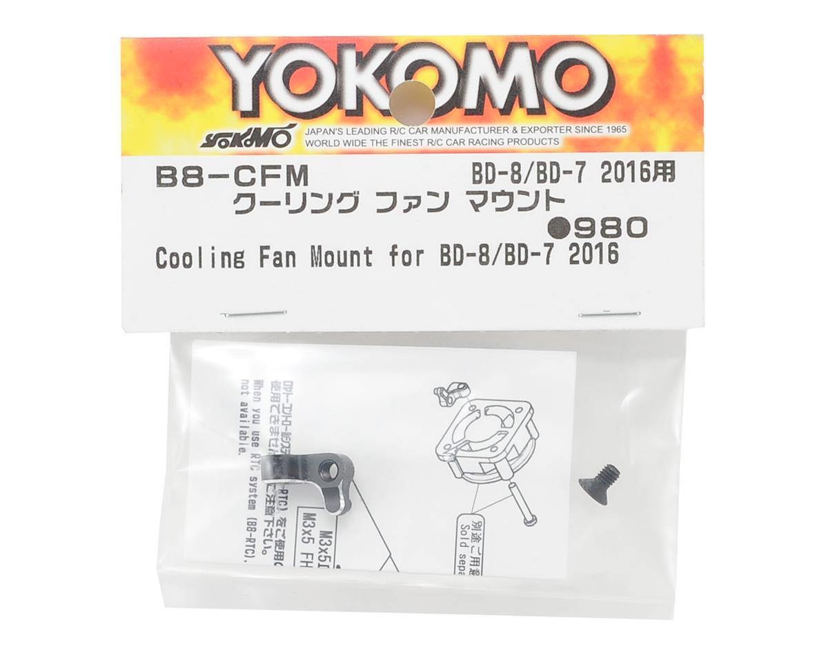 Yokomo BD7/BD8 Aluminum Fan Mount