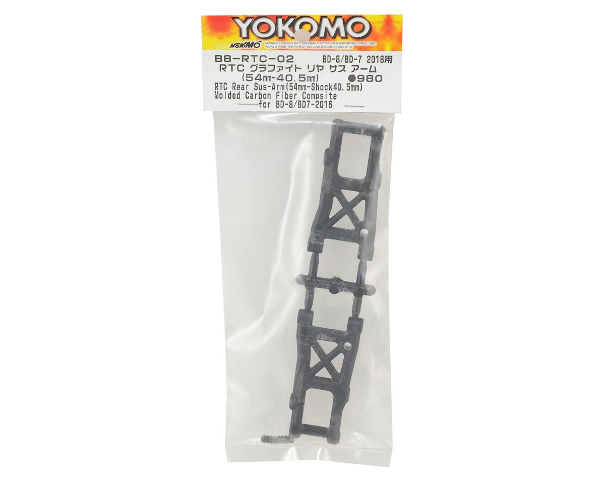 Yokomo RTC Graphite Rear Suspension Arm Set (54mm-39.5mm)
