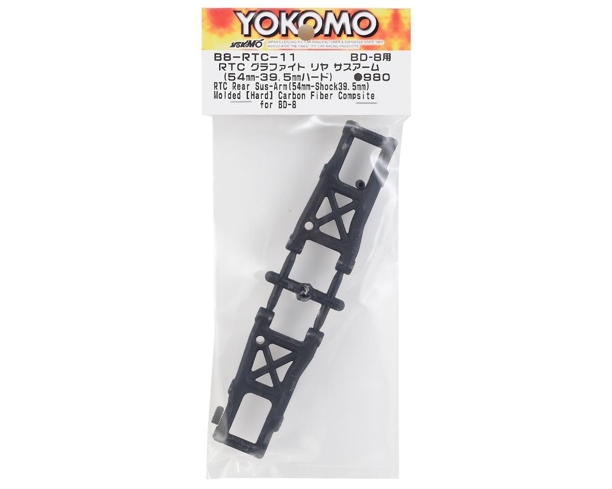 "Yokomo RTC ""Hard"" Graphite Suspension Arm Set (54mm-39.5mm)"