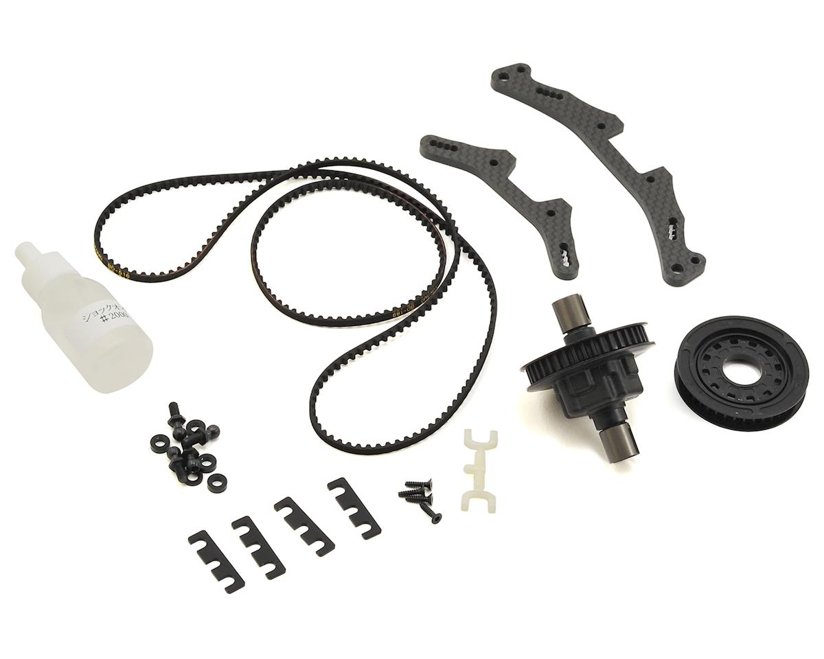 BD8 40T Pulley Conversion Kit (for Stock Racing) by Yokomo