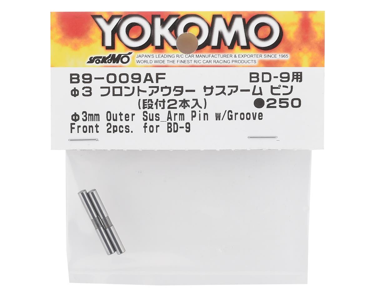 Yokomo BD9 3mm Front Outer Suspension Arm Pin (2)
