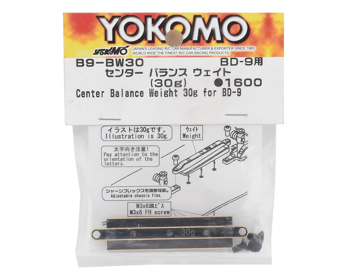 Yokomo BD9 Center Balance Weight (30g)