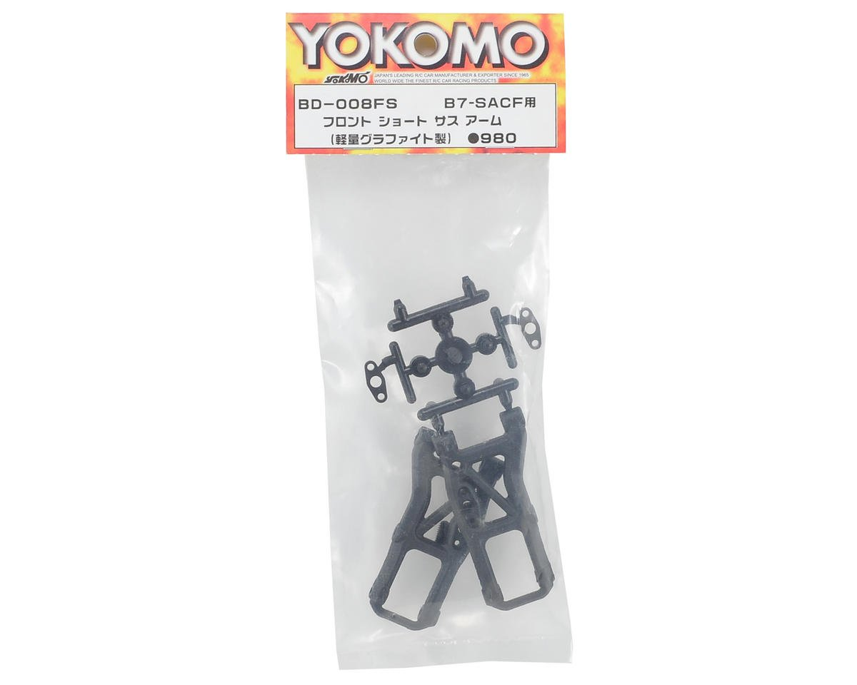 Yokomo Front Suspension Arm (2) (Short)