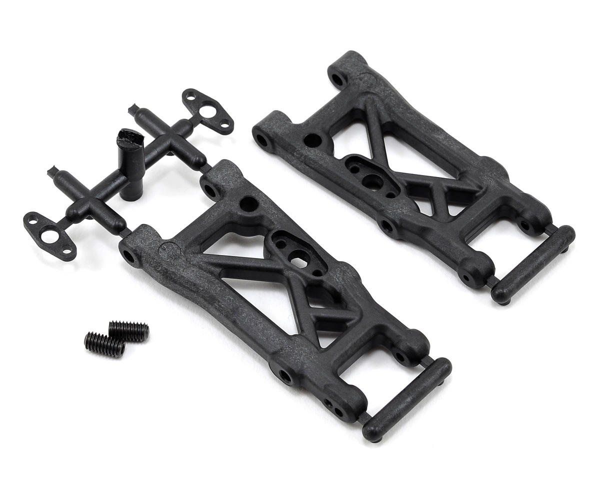 Yokomo Lightweight Graphite Rear Suspension Arm Set (41.5mm)