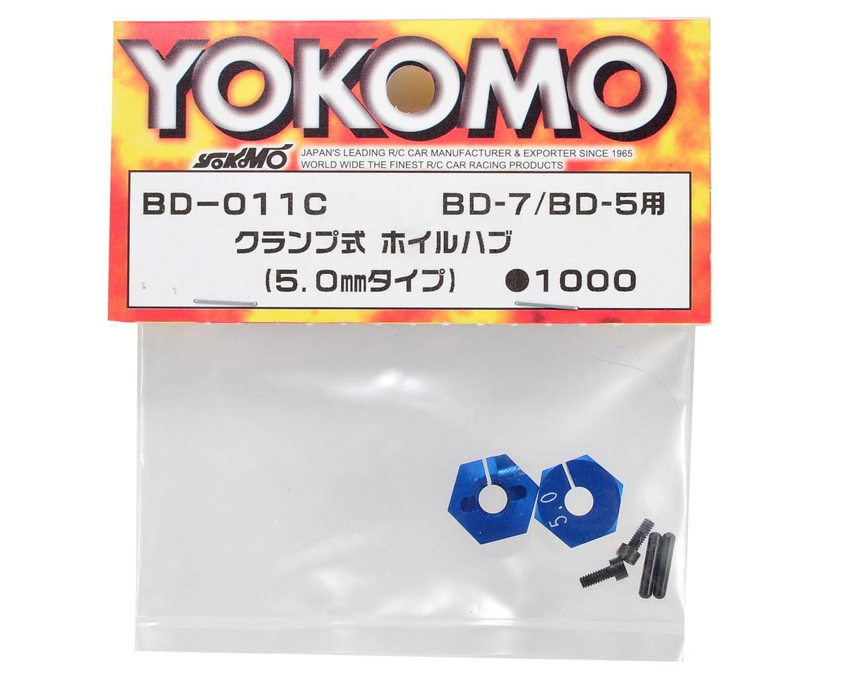 Yokomo 5.0mm Clamp Type Wheel Hub Set (2)