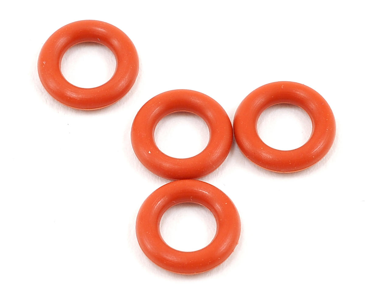 Silicone Gear Differential O-Ring (Red) (4) by Yokomo
