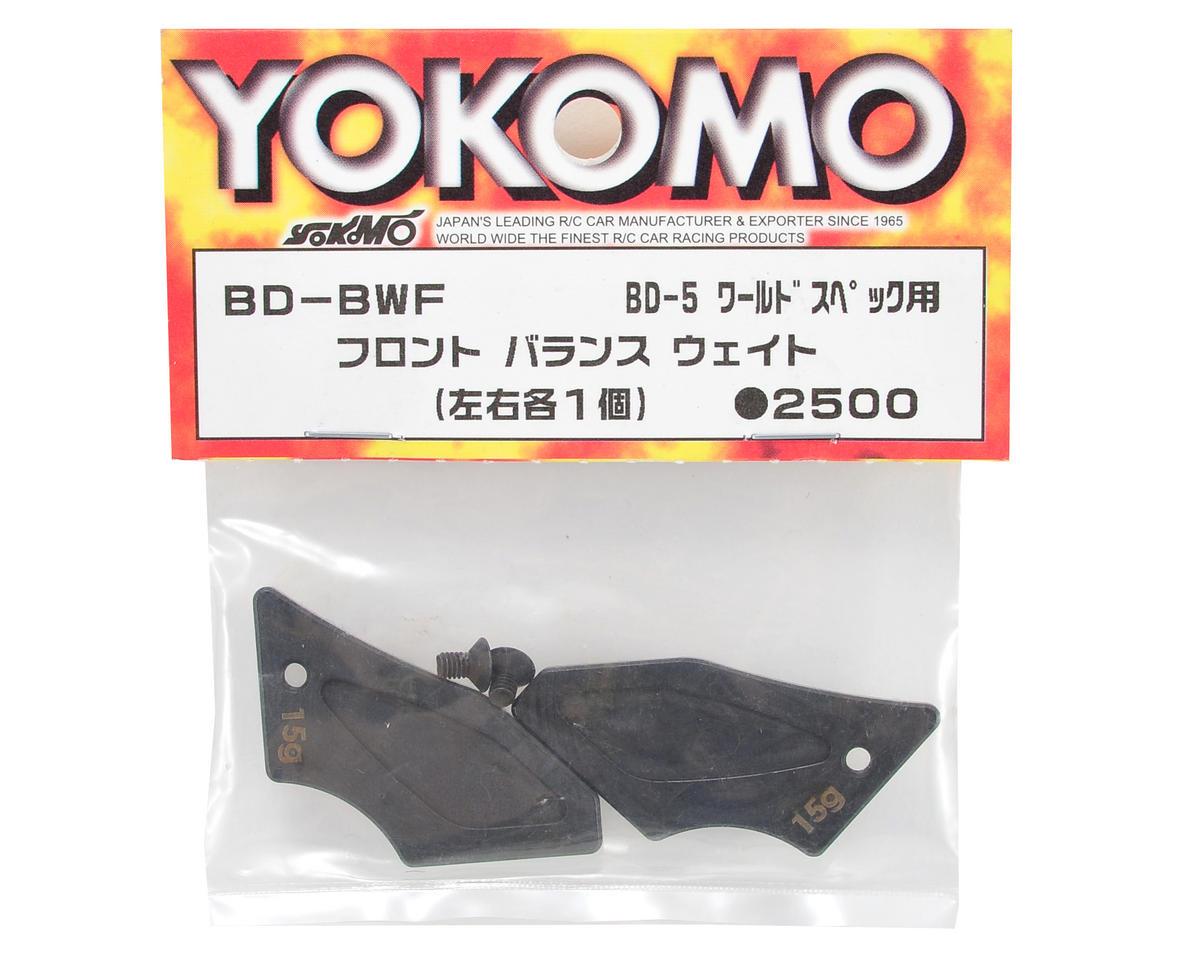Yokomo BD7 Front Balance Weight Set