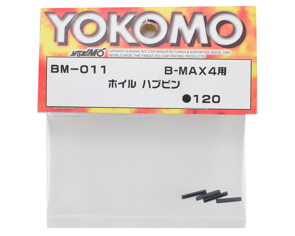 Yokomo Wheel Hub Pin (4)