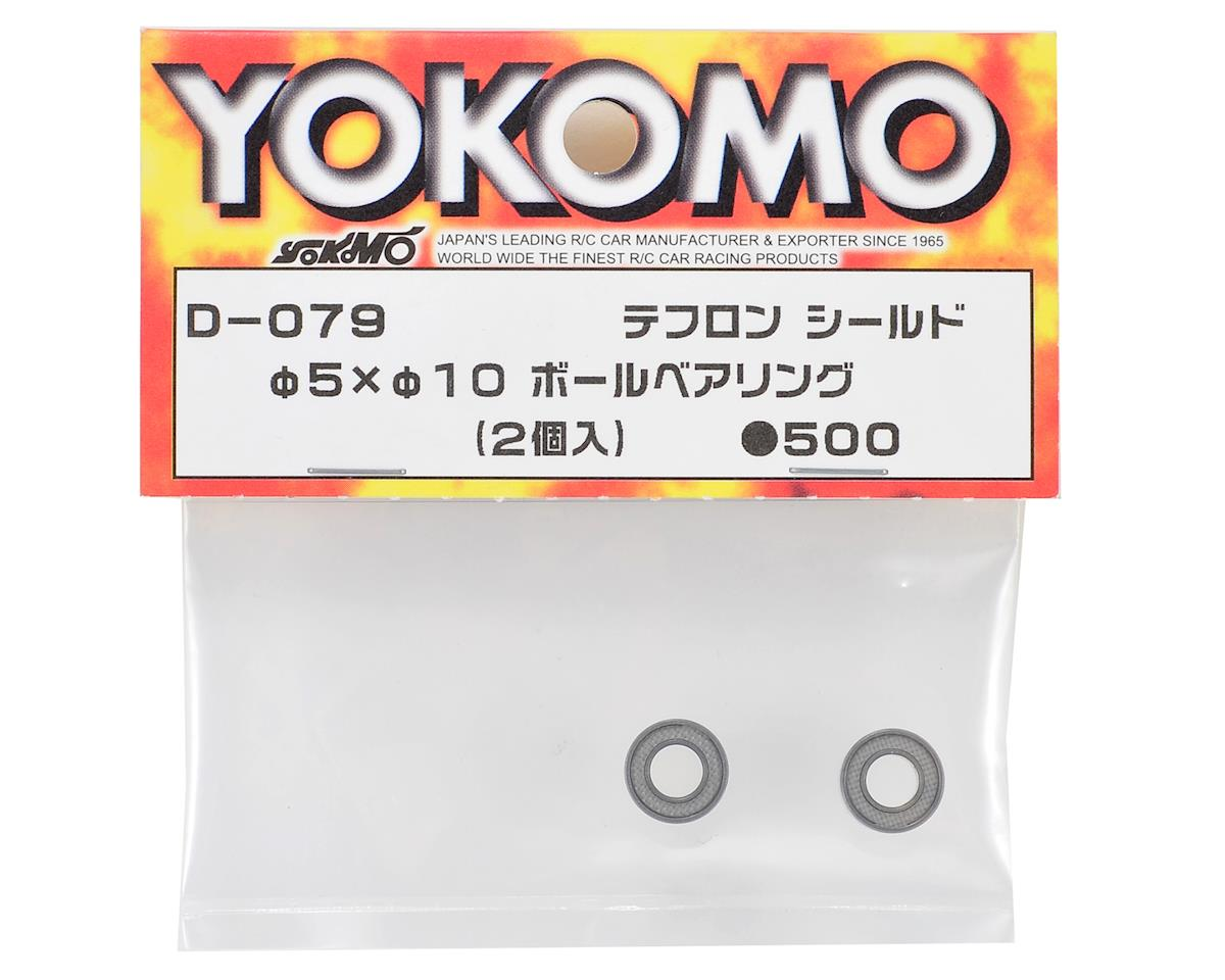 Yokomo 5x10mm Teflon Sealed Ball Bearing (2)