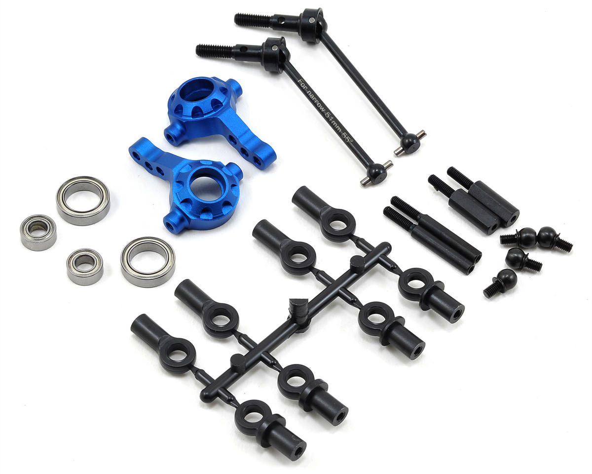 Yokomo Aluminum Narrow Arm Steering Set (0°)