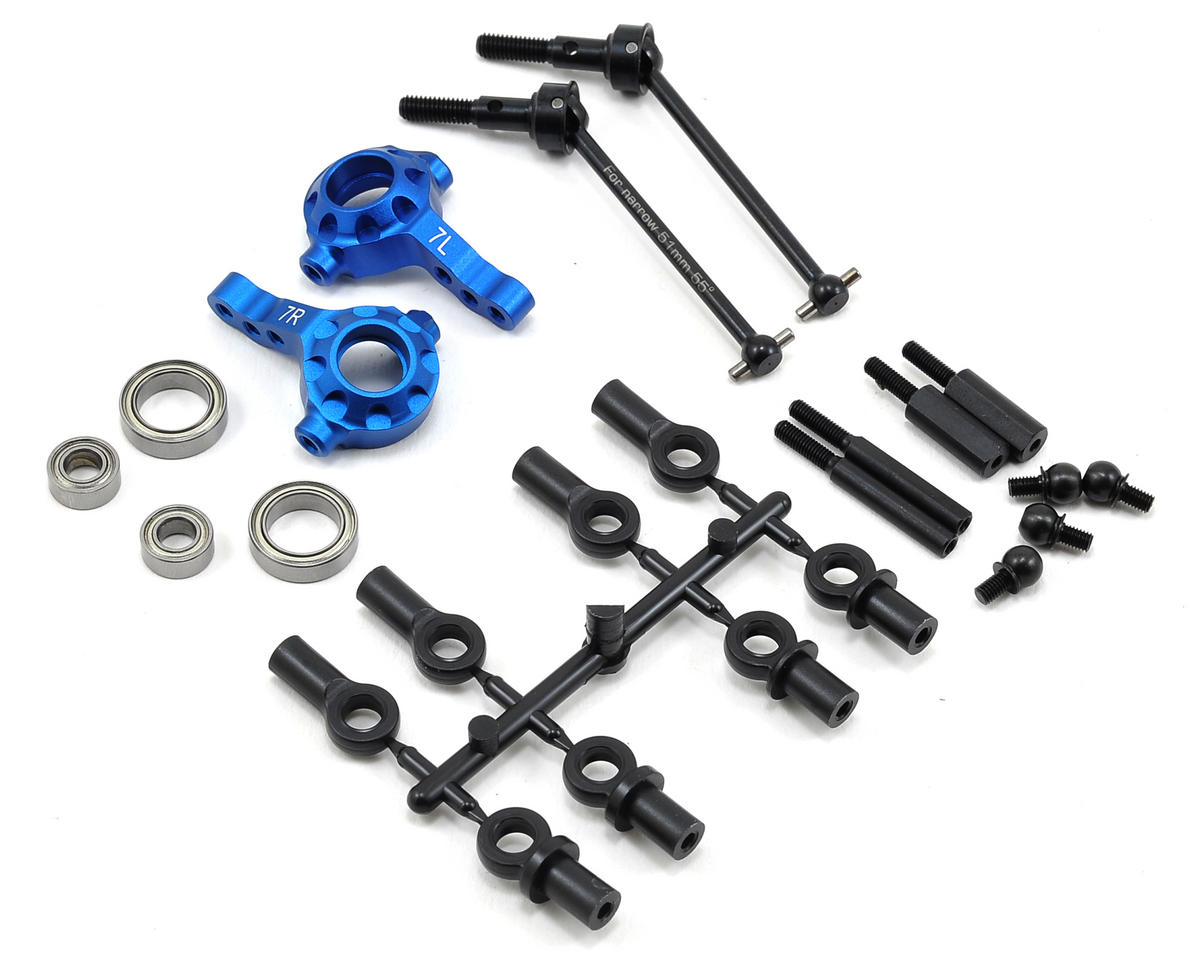 Yokomo Aluminum Narrow Arm Steering Set (7°)