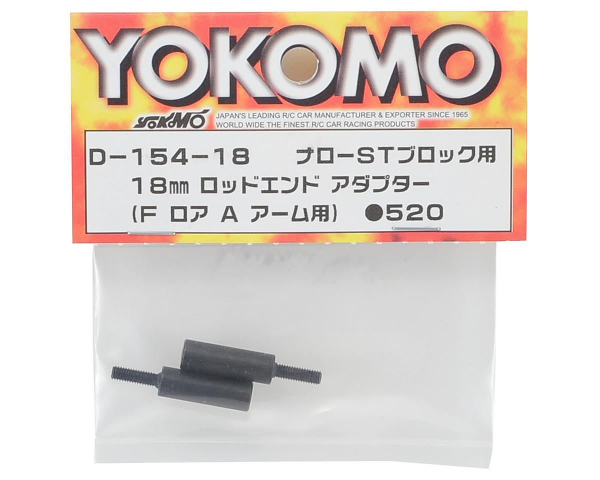 Yokomo 18mm Rod End Adapter (2) (Narrow Steering)