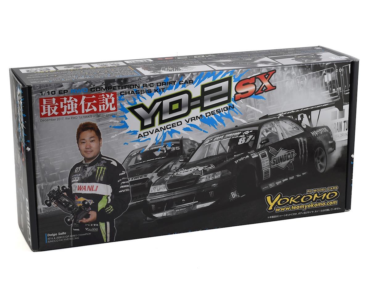 Yokomo YD-2SX 1/10 2WD RWD Competition Drift Car Kit (Carbon)
