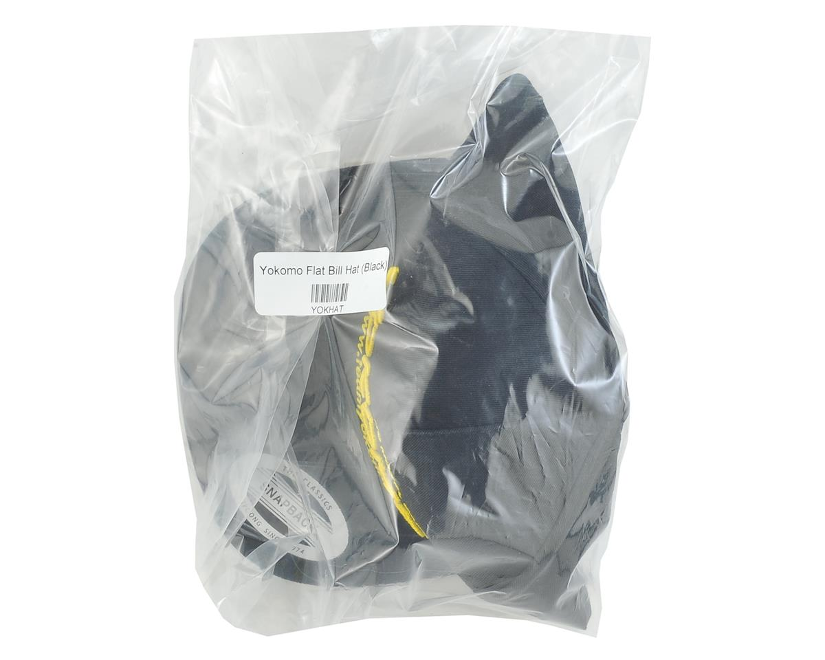 Yokomo Flat Bill Snap Back Hat (Black)