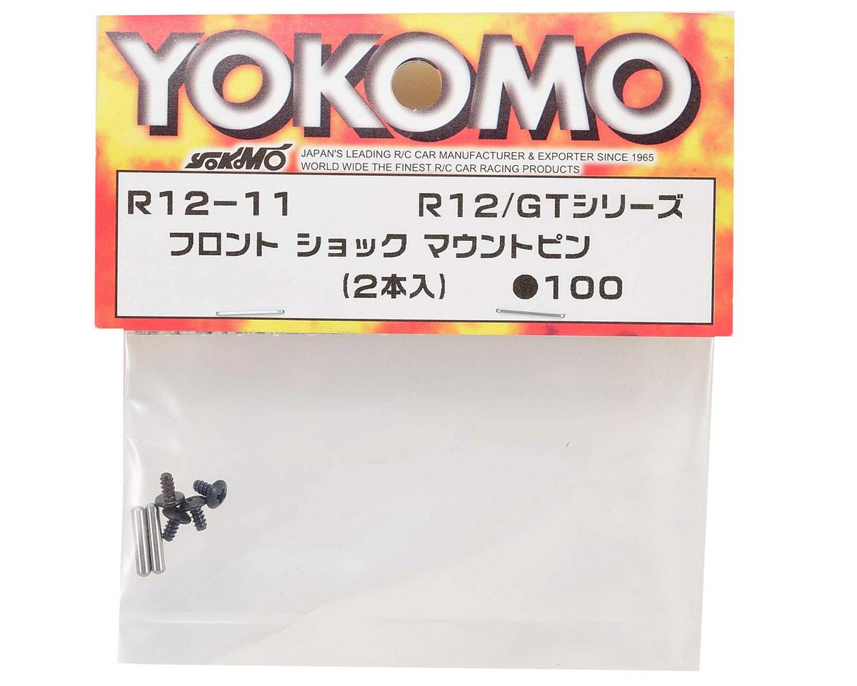 Yokomo Front Shock Mount Pin (2)