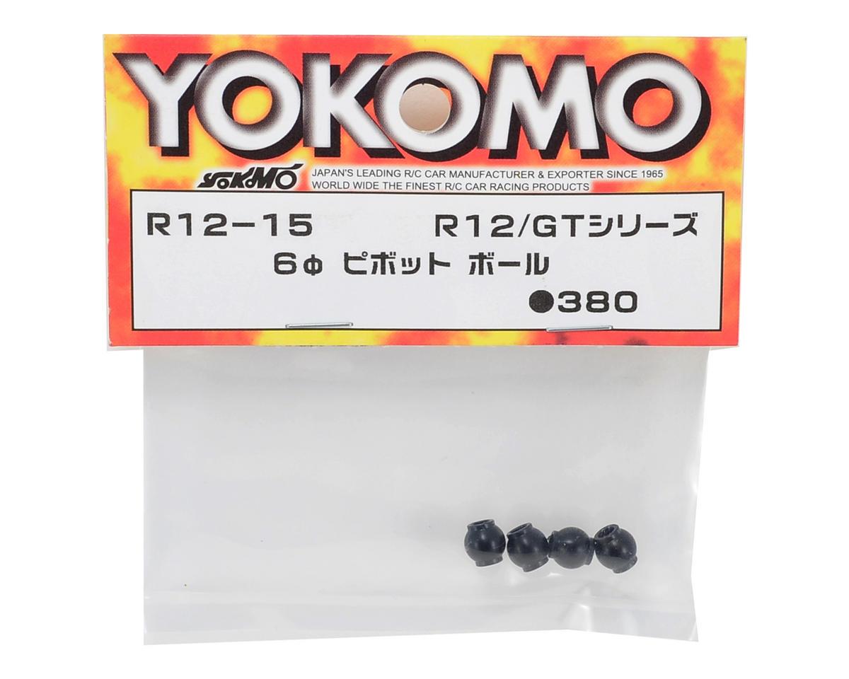 Yokomo 6mm Pivot Ball Set (4)