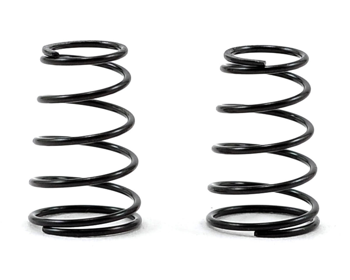 Yokomo YR-X12 Rear Side Spring Roll Set (2) (Black/Soft)