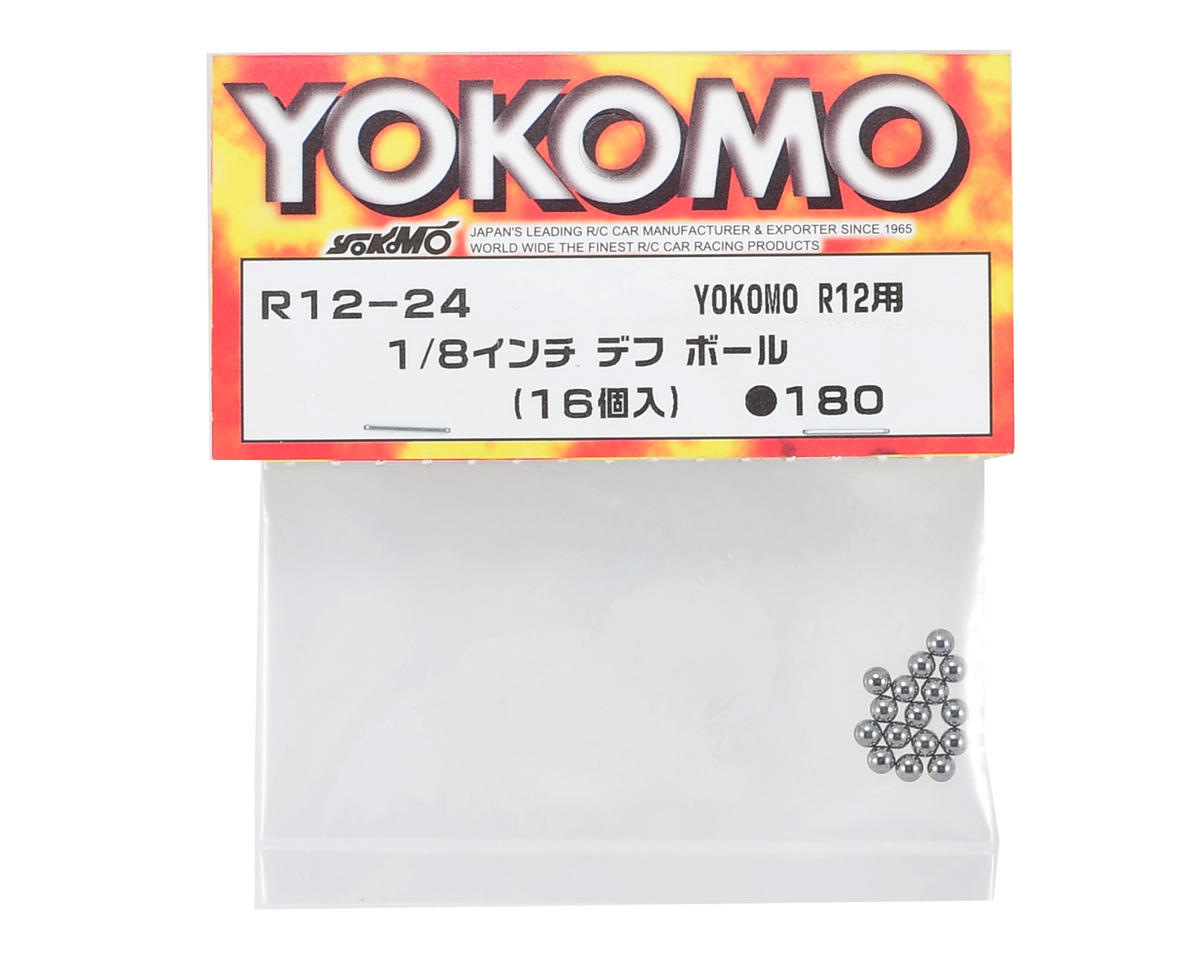 "Yokomo 1/8"" Differential Ball (16)"