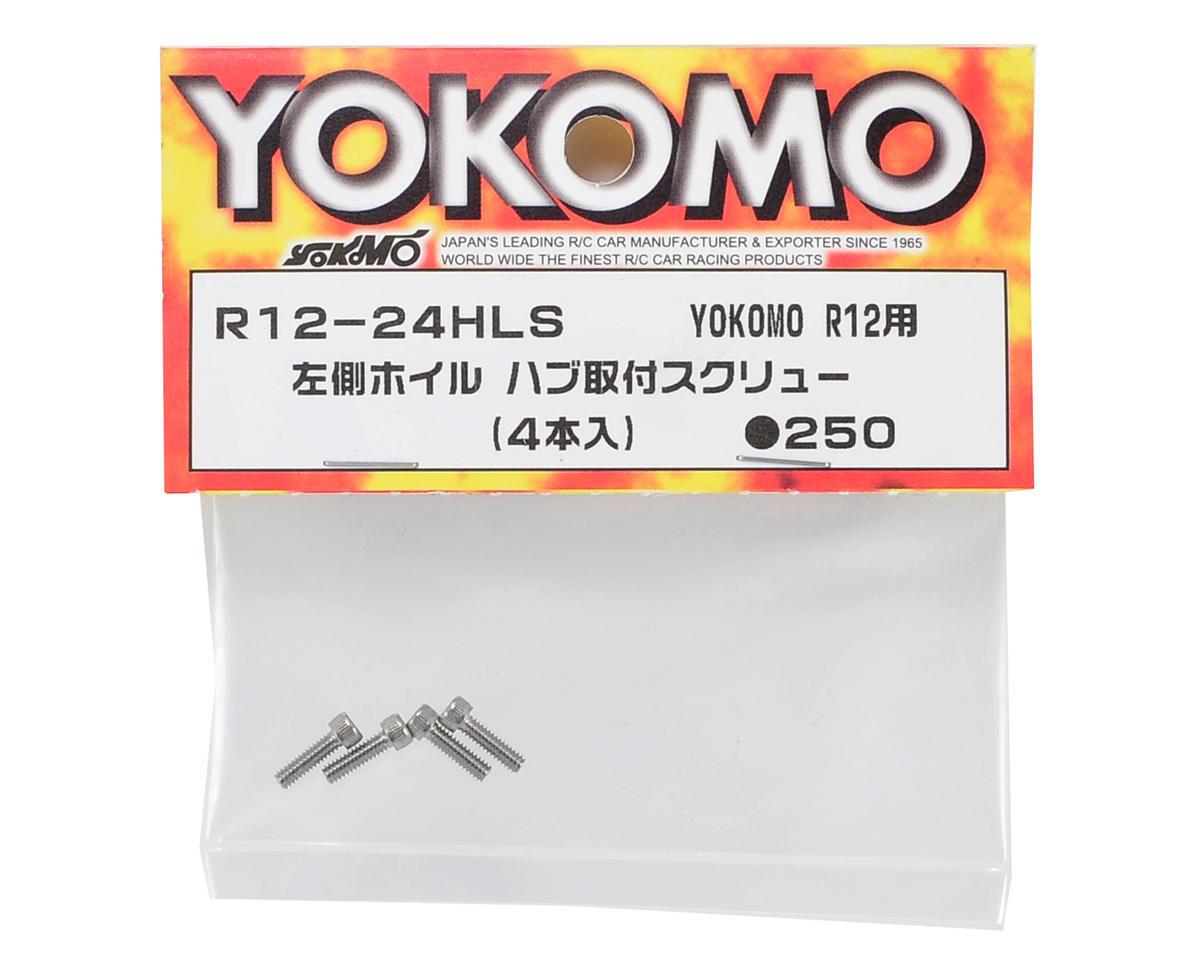 Yokomo Wheel Hub Screw (4)