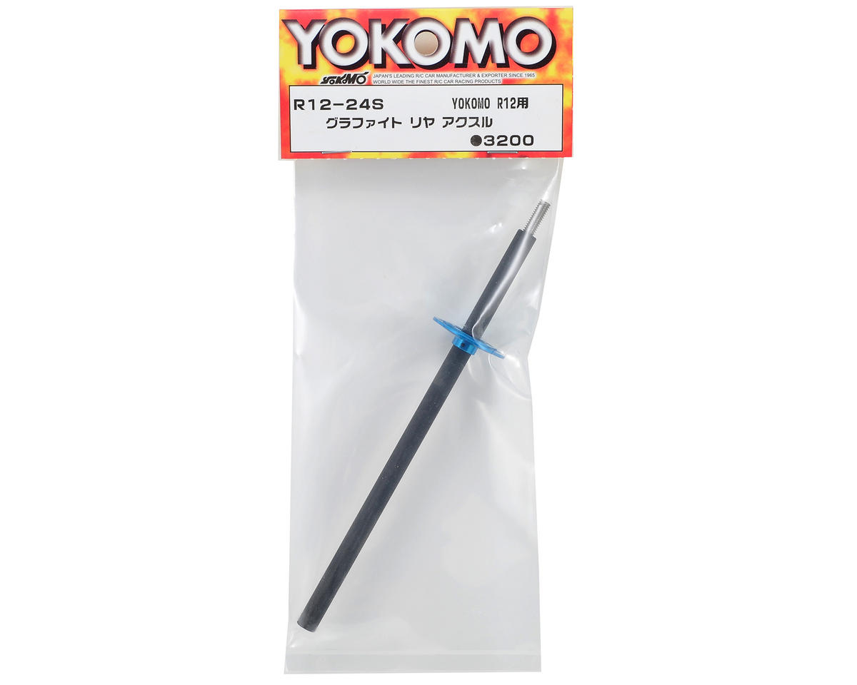 Yokomo Graphite Rear Axle