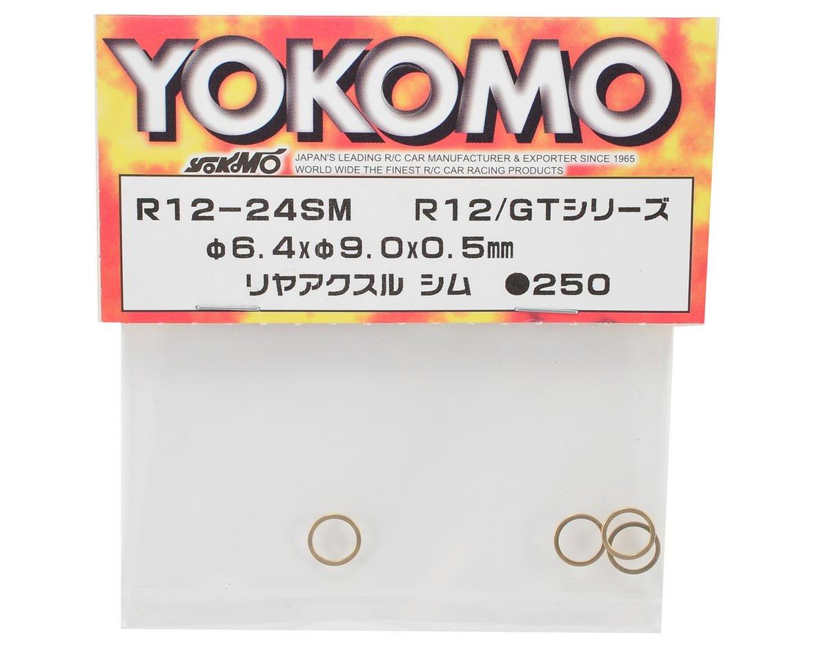 6.4x9.0x0.5mm Rear Axle Shim (4) by Yokomo