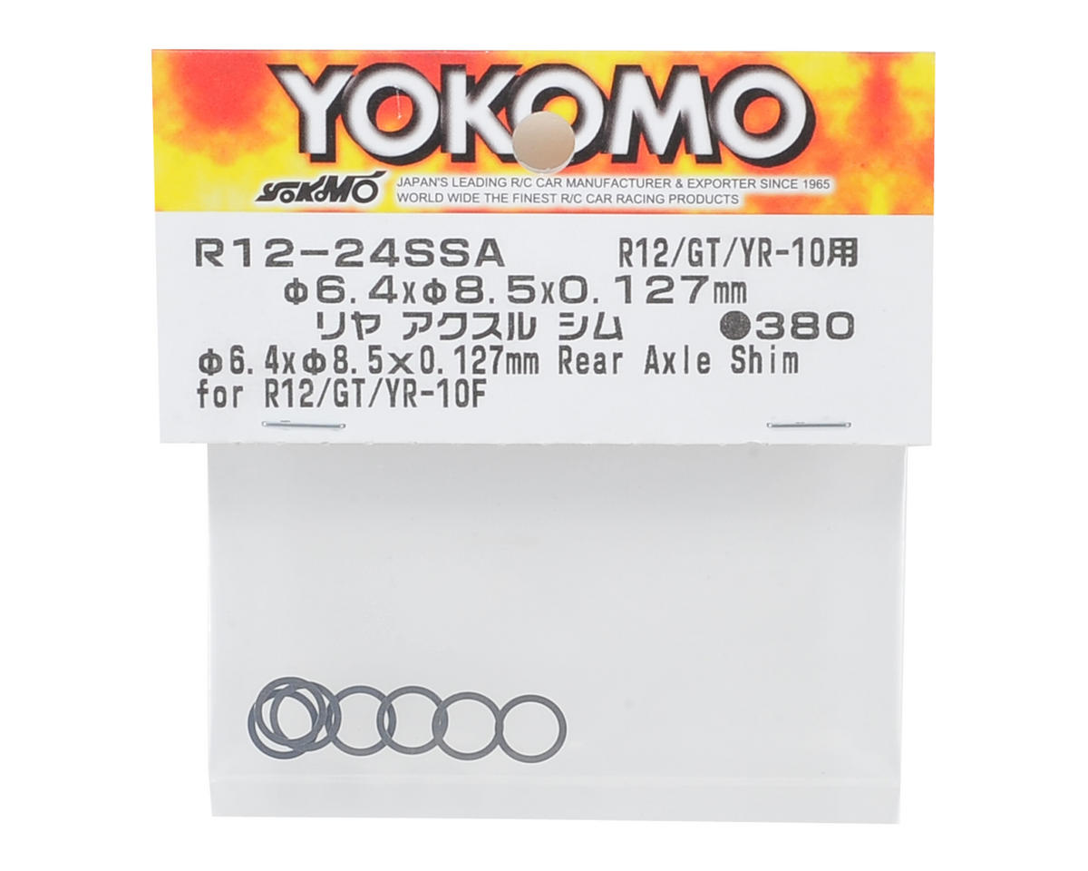 Yokomo 6.4x8.5x0.127mm Rear Axle Shim (10)