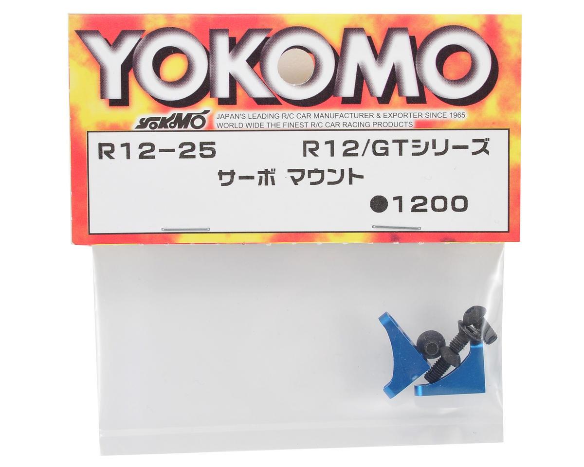 Yokomo Aluminum Servo Mount Set