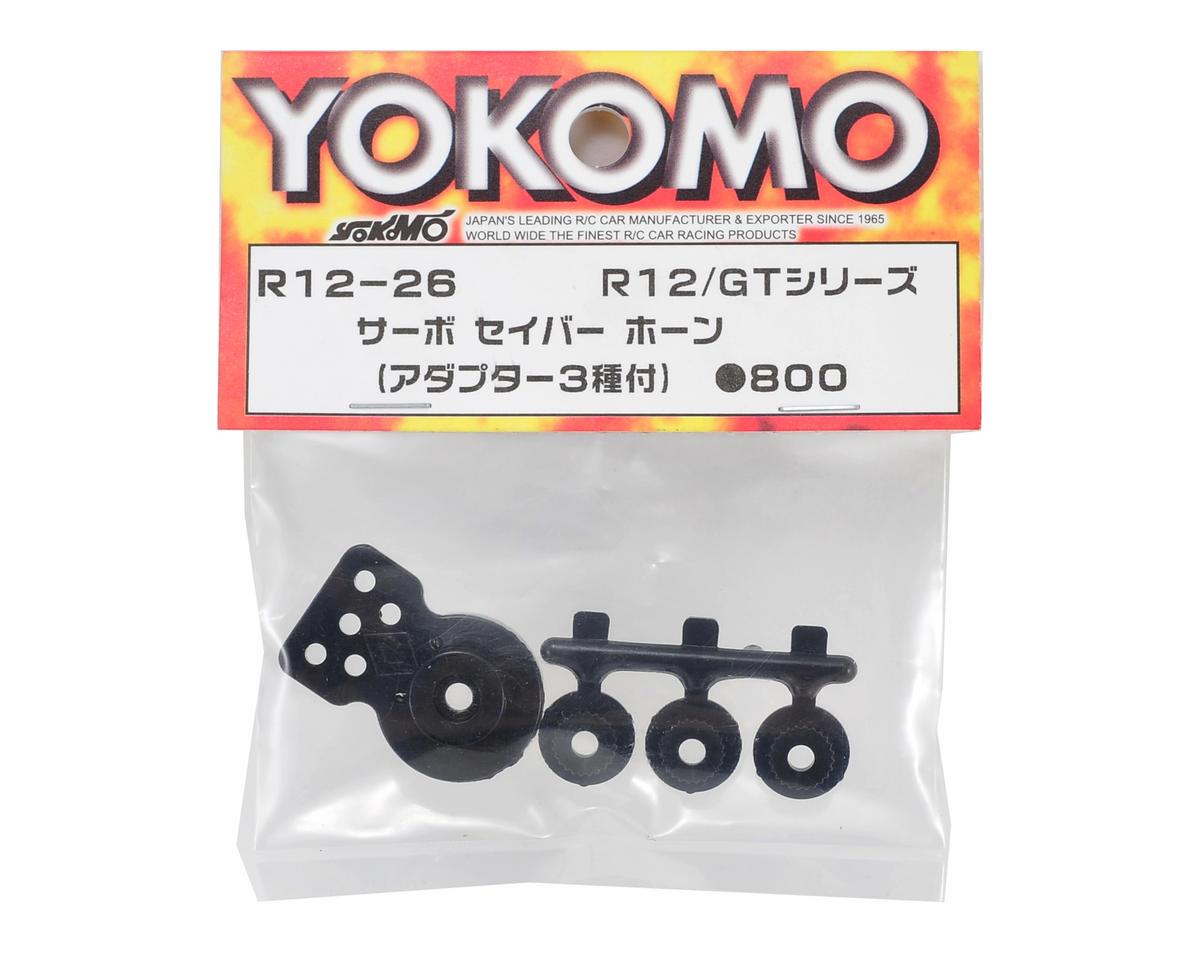 Yokomo Servo Saver Horn w/Inserts