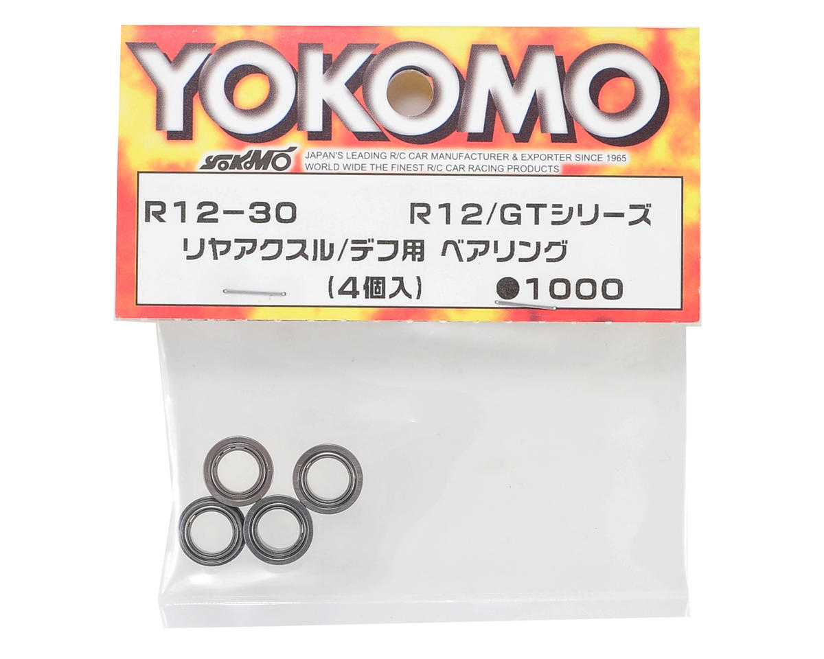 Rear Axle/Differential Bearing Set (4) by Yokomo
