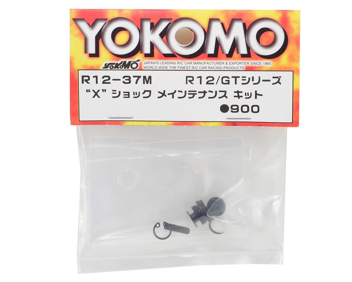 "Yokomo ""X"" Shock Maintenance Kit"