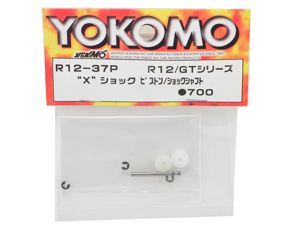 "Yokomo ""X"" Shock Piston/Shaft Set"