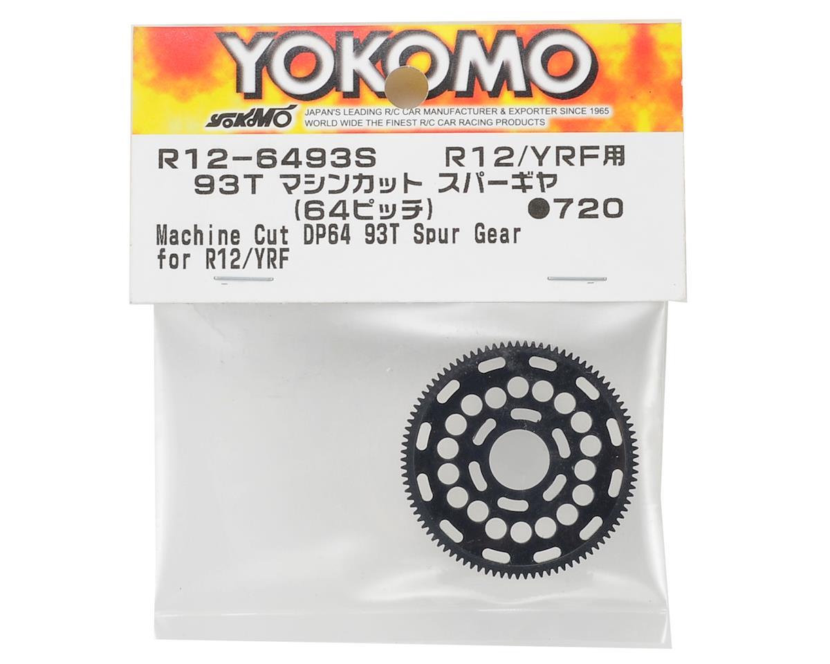 Yokomo R12 64P Machined Spur Gear (93T)