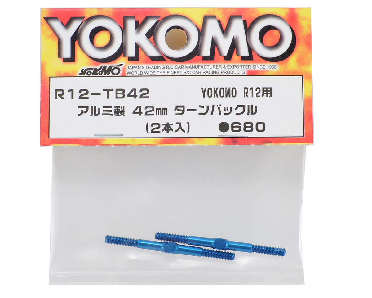 Yokomo R12 42mm Aluminum Turnbuckle (2)
