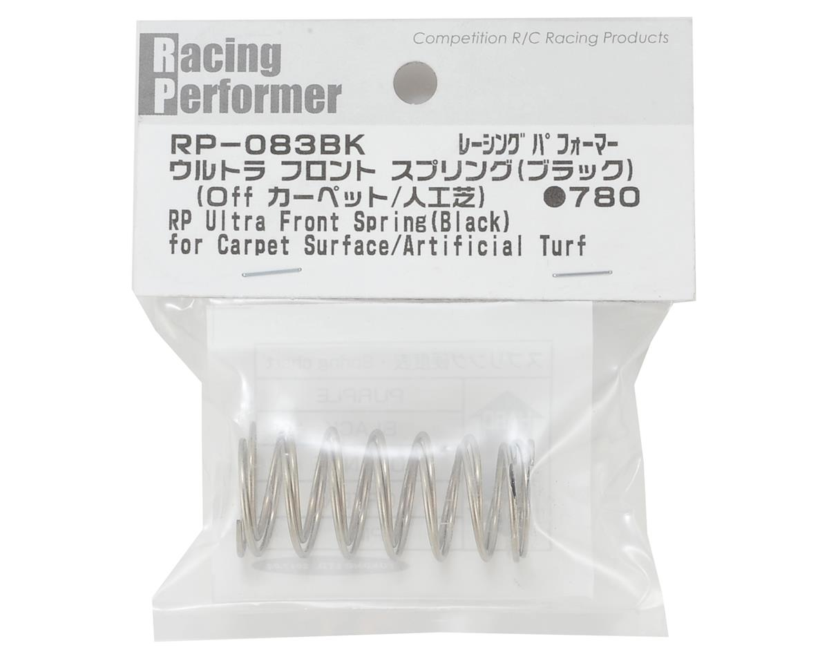 Racing Performer Ultra Front Buggy Springs (Black) (2) (Med-Hard) by Yokomo