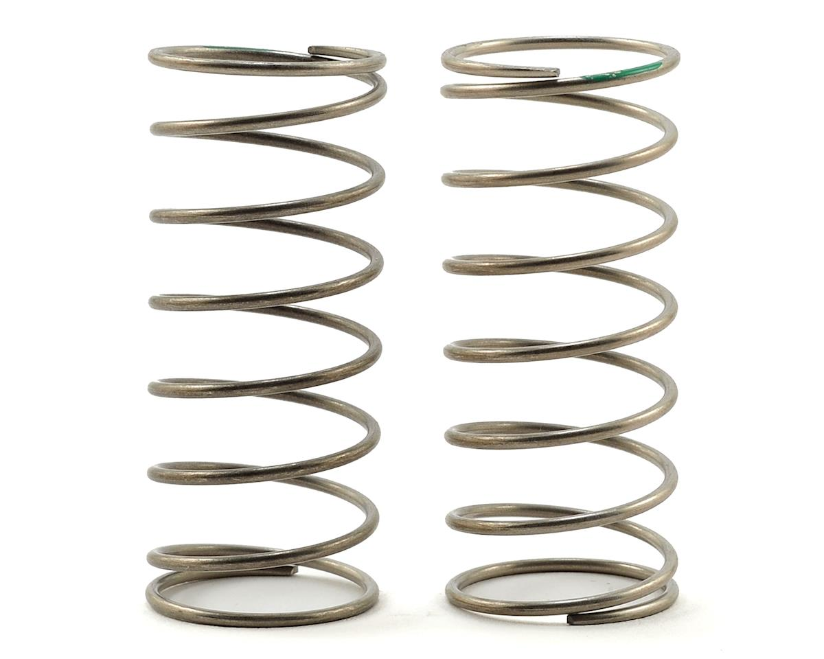 Racing Performer Ultra Front Buggy Springs (Green) (2) (Med-Soft) by Yokomo