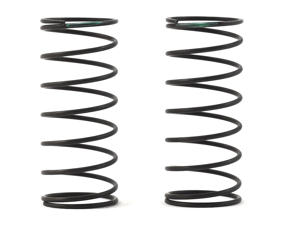 Racing Performer Ultra Front Buggy Springs (Green/Dirt) (2) (Med) by Yokomo