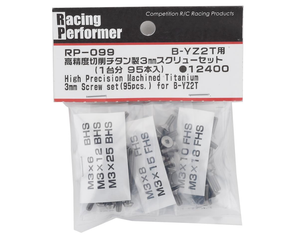 Yokomo 3mm YZ-2T High Precision Titanium Screw Set (95)