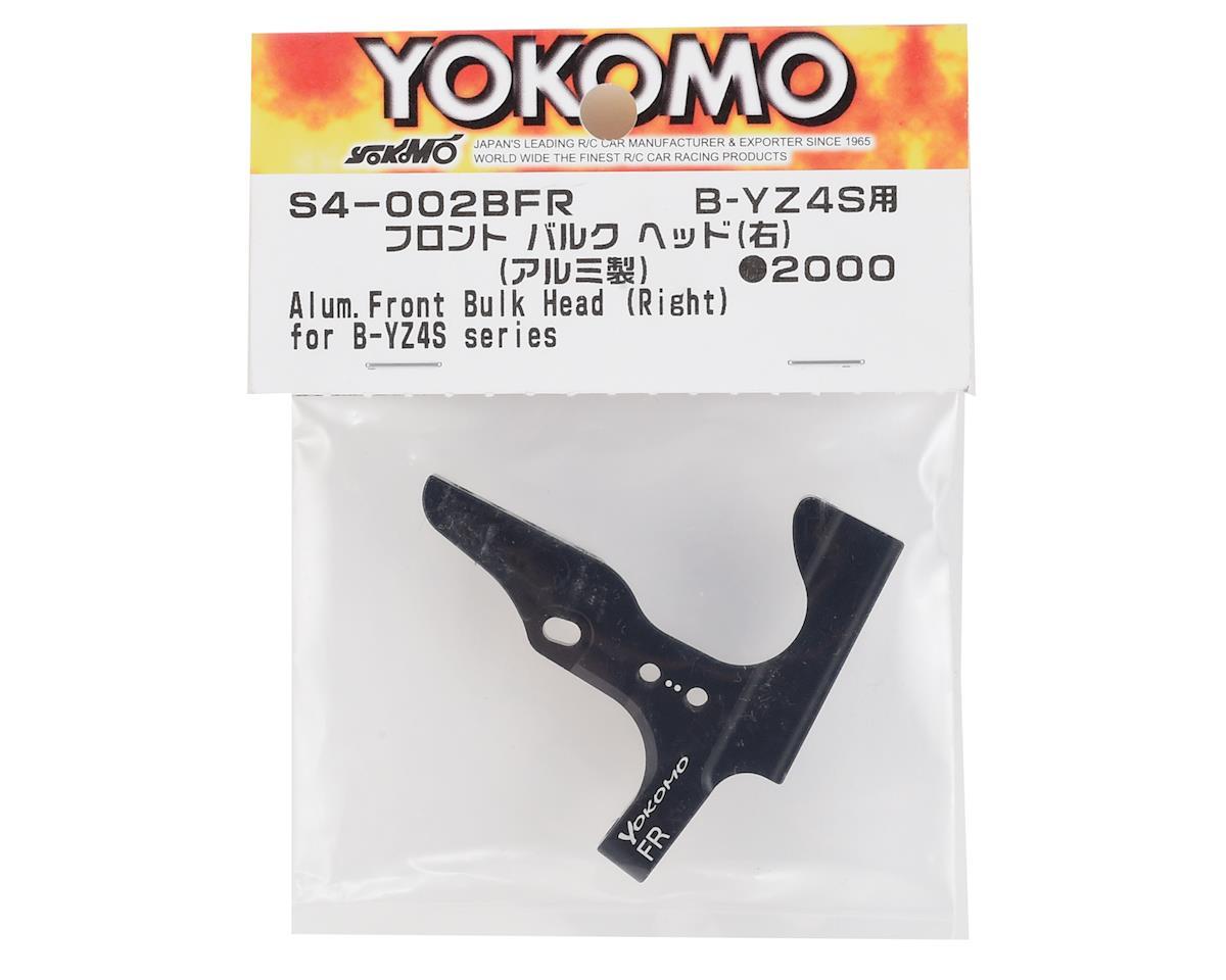 Yokomo Aluminum Front Bulkhead (Right)