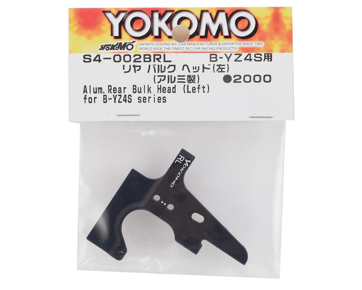 Yokomo Aluminum Rear Bulkhead (Left)