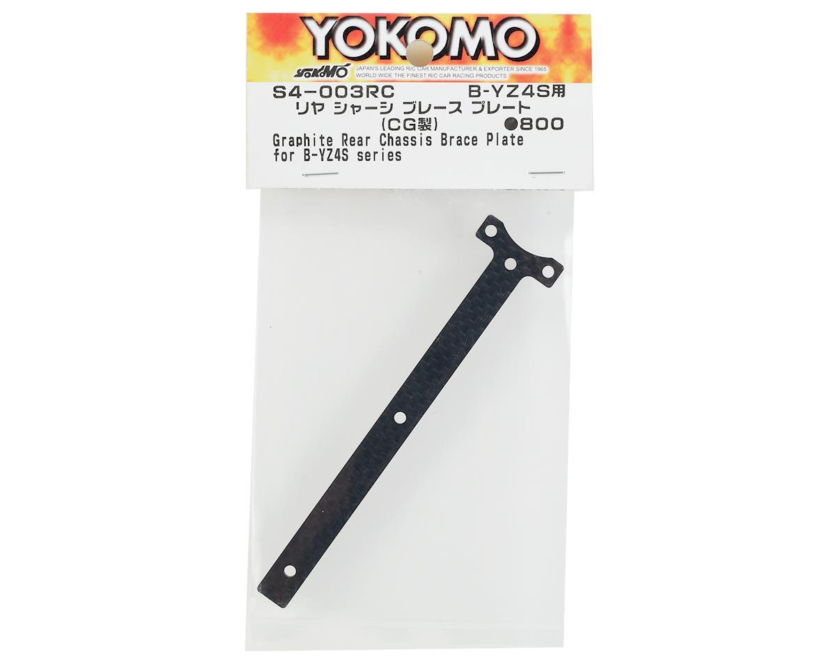 Yokomo Graphite Rear Chassis Brace Plate