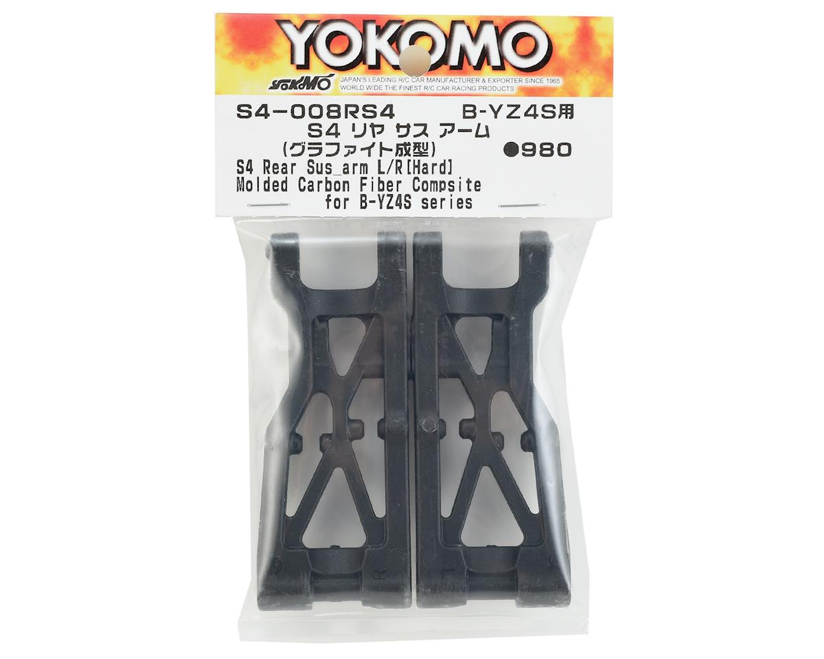 Yokomo S4 Rear Suspension Arm Set (Graphite)
