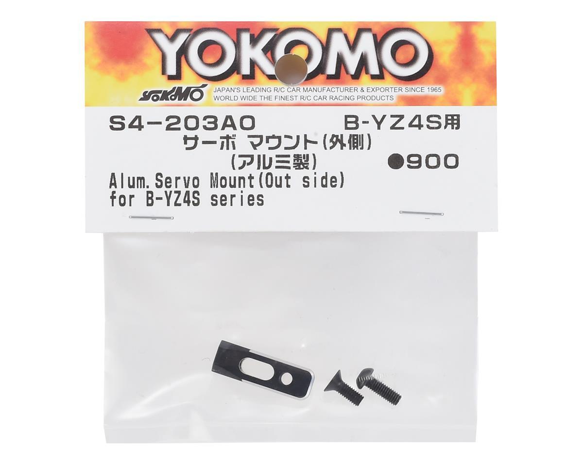 Yokomo Aluminum Servo Mount (S4-203AO)