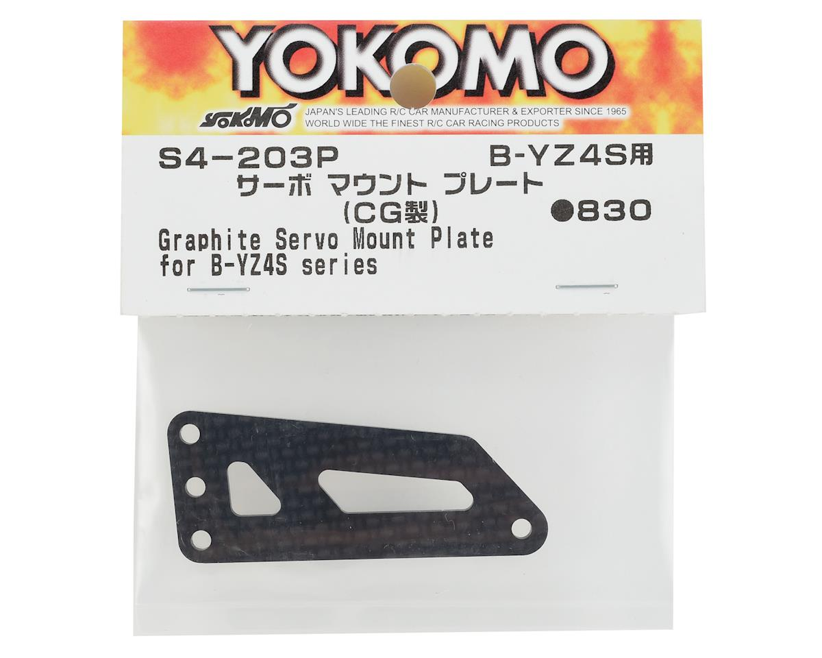 Yokomo Graphite Servo Mount Plate