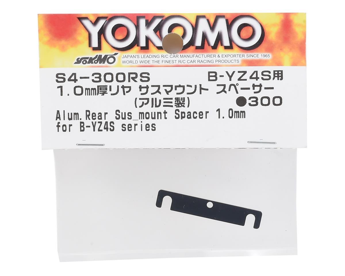 Yokomo 1.00mm Aluminum Rear Suspension Mount Spacer