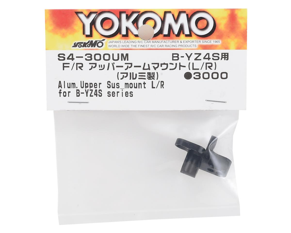 Yokomo Aluminum F/R Upper Arm Mount Set