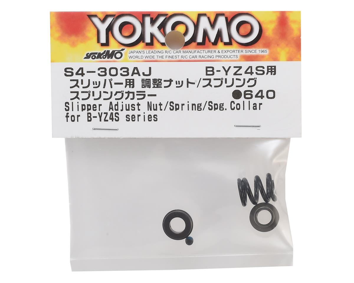 Yokomo Slipper Adjustment Nut & Spring Set