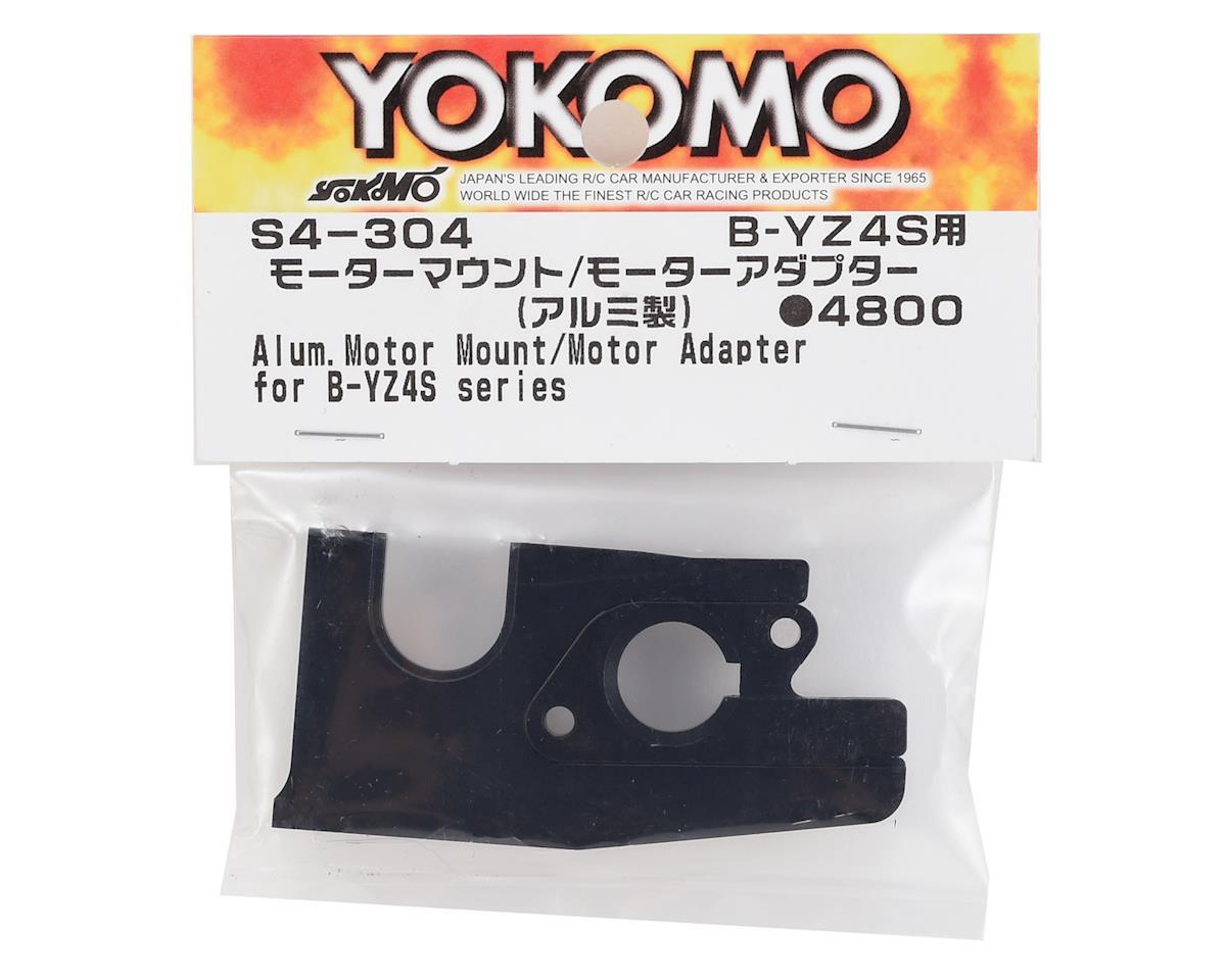 Yokomo Aluminum Motor Mount/Motor Adapter