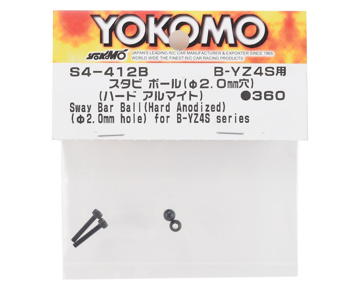 Yokomo Stabilizer Ball (2) (Hard Anodized)