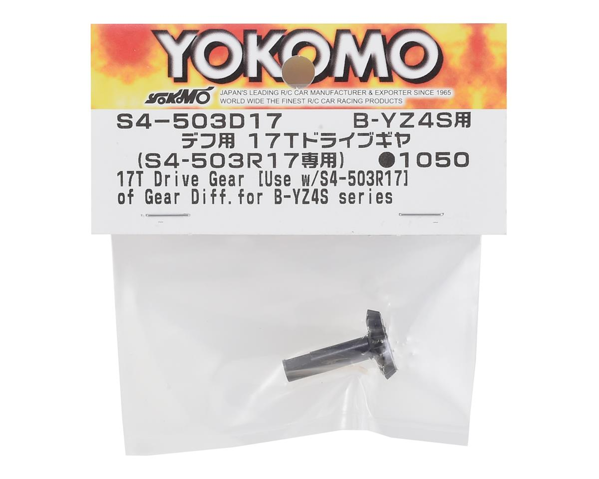 Yokomo Differential 17T Drive Gear (for S4-503R17)